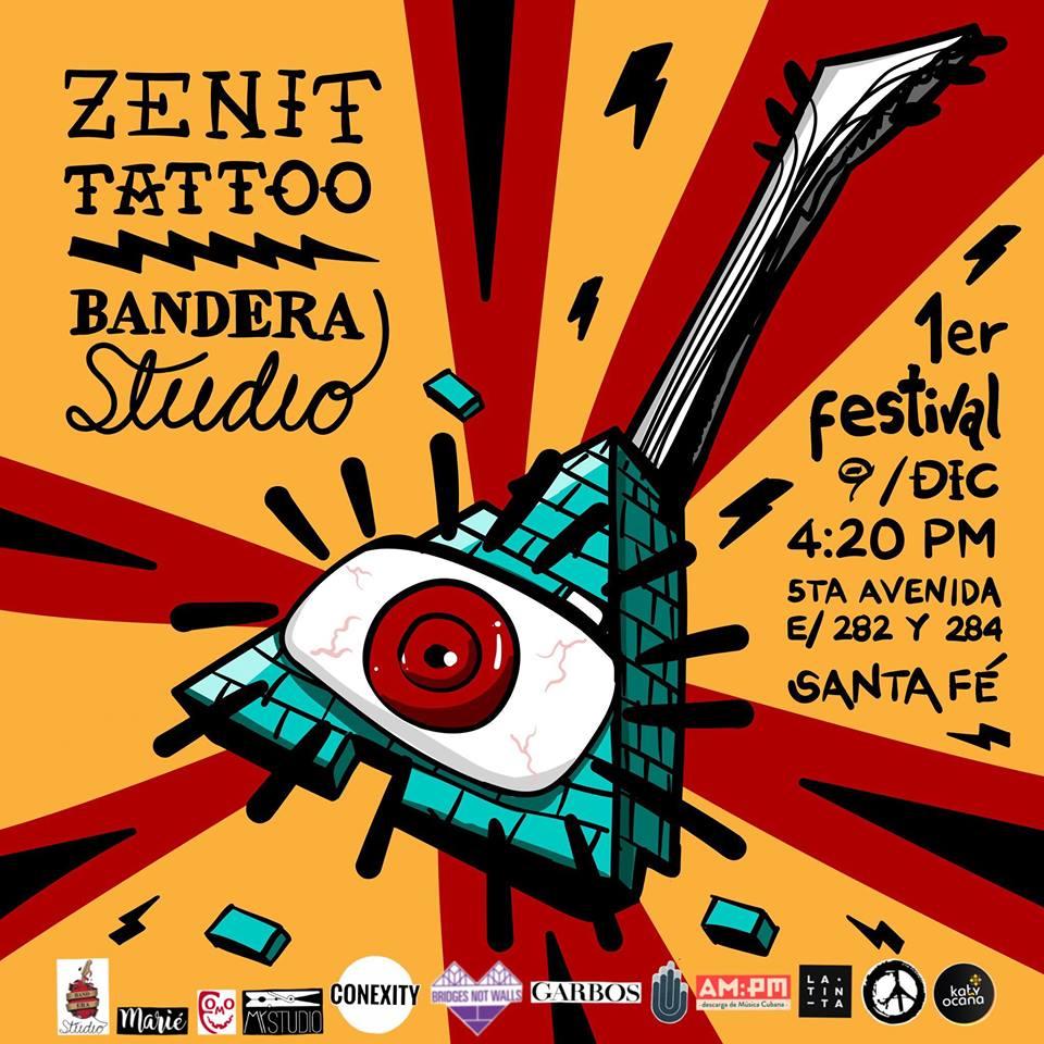 Zenit Tattoo. Foto tomada de Facebook.