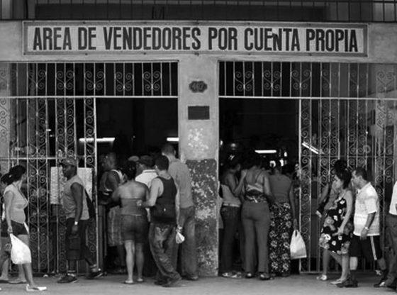 Trabajo por cuenta propia. Foto tomada de http://www.trabajadores.cu.