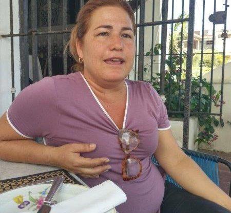 Niuris Ysabel Higueras Martínez, dueña del restaurante Atelier. Foto SEMlac Cuba